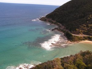 This is just one of the amazing views you will see when you drive along the Great Ocean Road.