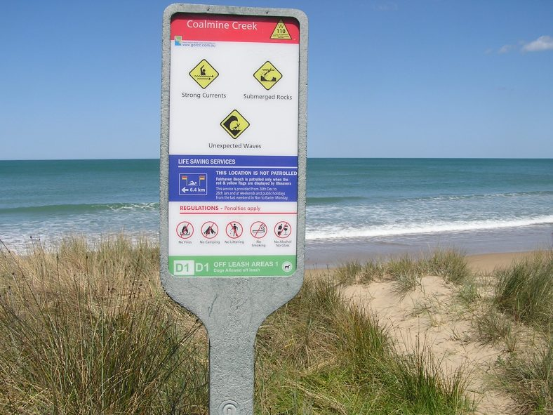 Steps to stay safe on the beach