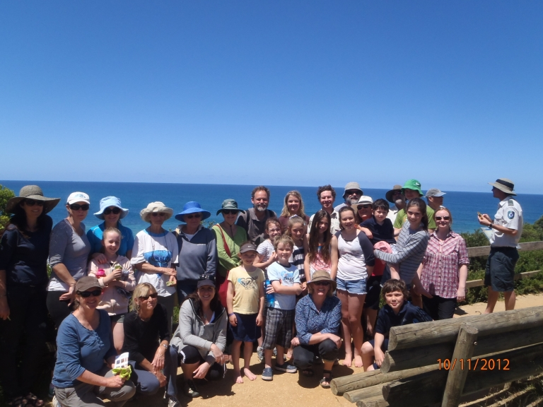 The Surfcoast's newsest volunteer group - Eagle Rock Marine Sanctuary group
