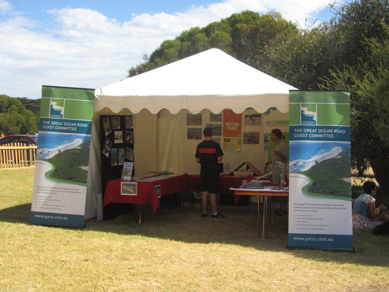 GORCC Education tent