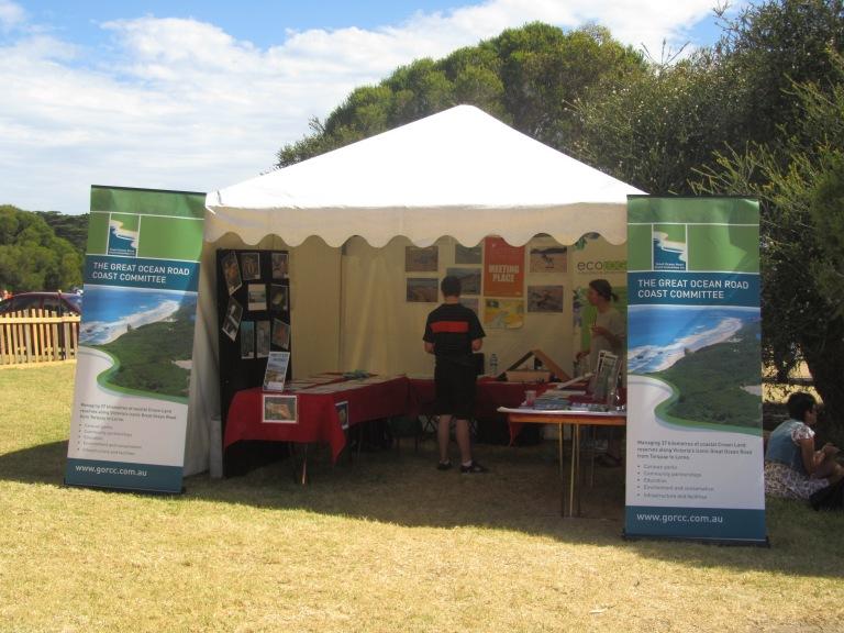 GORCC Education tent