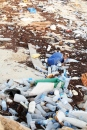 A huge proportion of mis-handled waste ends up back in the ocean where it harms marine life.