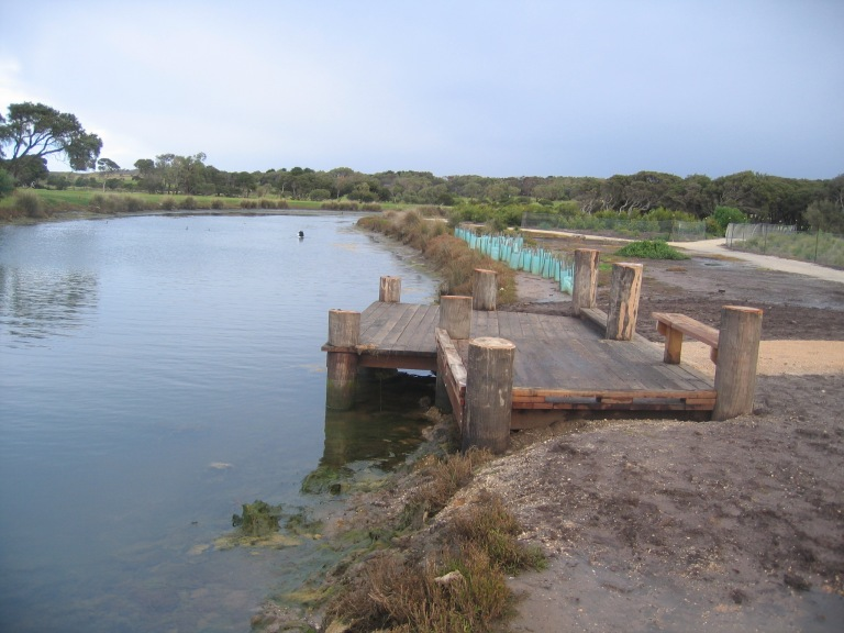 Spring Creek is one of many popular fishing spots along the Surf Coast.