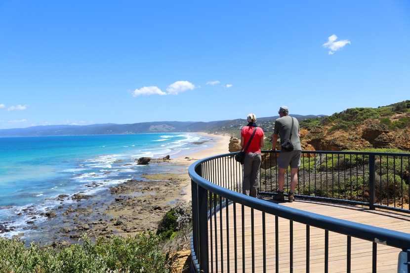 Splitting the difference for great views at Aireys