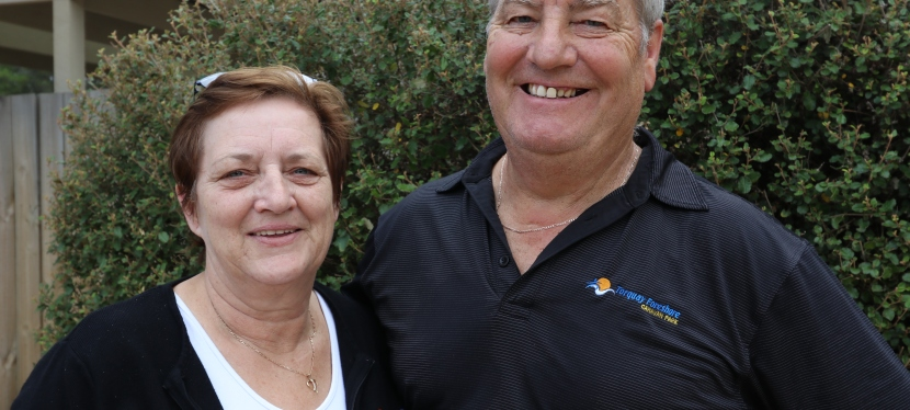 Wayne and Julie join theteam