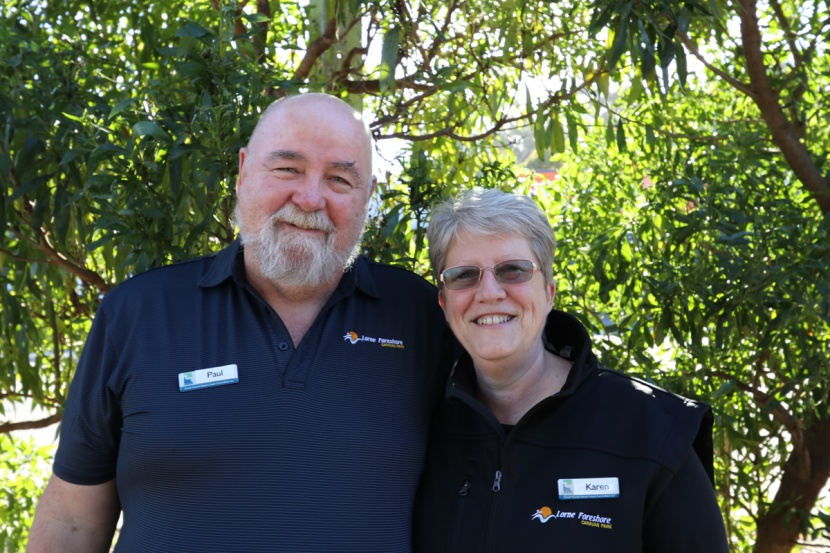 Karen and Paul join the team at Lorne