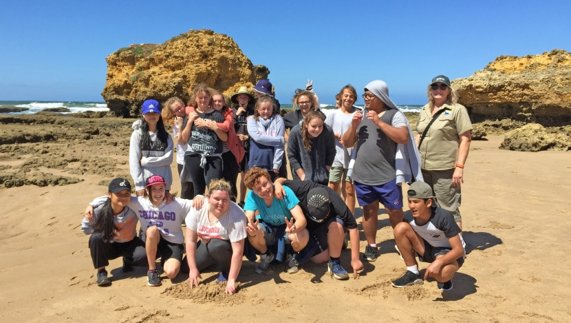 Northern Bay College students lend ahand